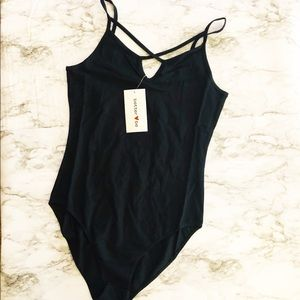 Black Body Suit Size M